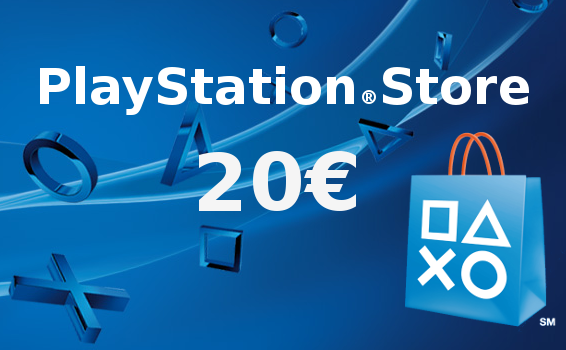 Carte Prépayée Playstation Network France 20€