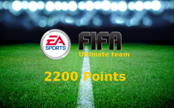 2200 points Fifa Ultimate Team