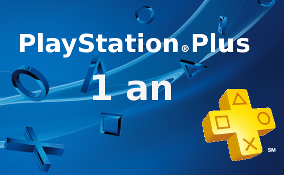 Abonnement Playstation Plus France 1 an