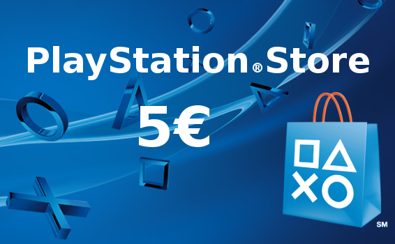 Carte prépayée Playstation Network France 5€