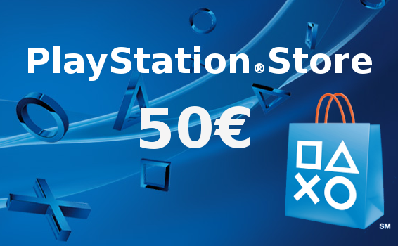 Carte prépayée Playstation Network France 50€