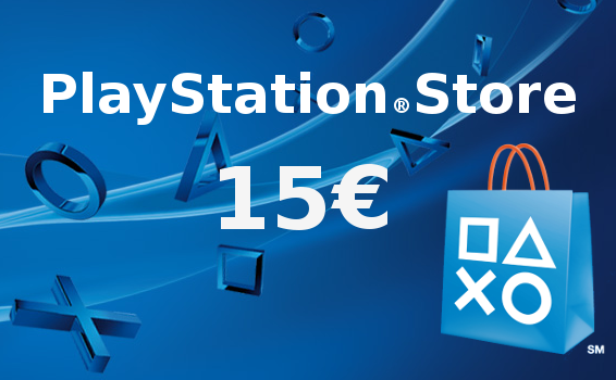 Carte Prépayée Playstation Network  France 15€