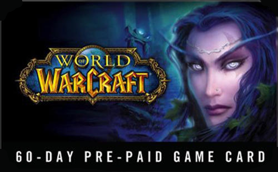 Abonnement World of Warcraft 60 jours